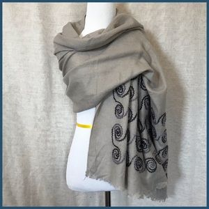 Accessories - Swirling Wrap Scarf